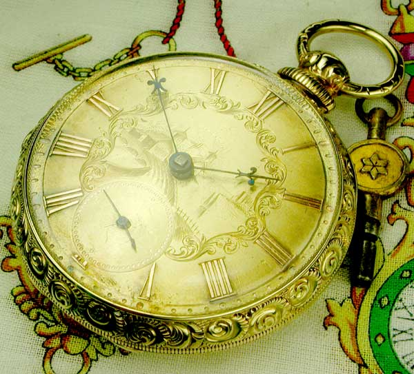Карманные часы | Старинные часы HD92