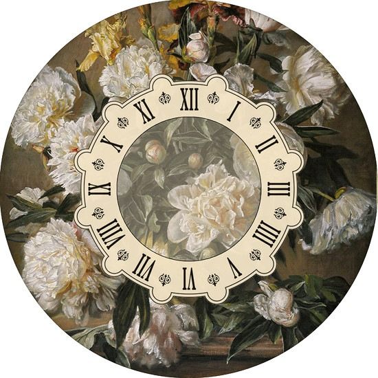 Циферблат часов своими руками фото
