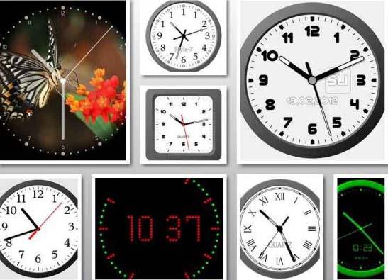 Обои Часы На Рабочий Стол Красивые
