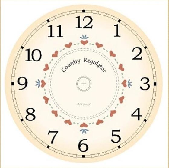Циферблаты для часов своими руками