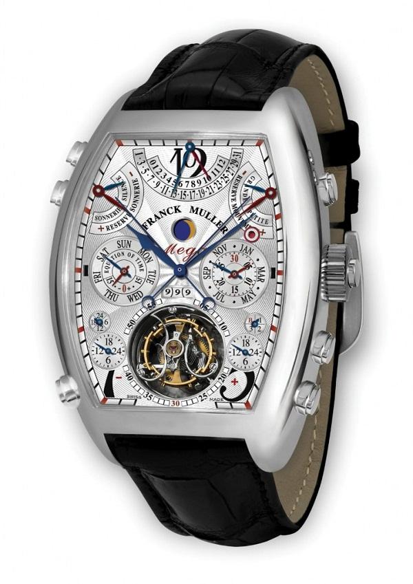 Franck Muller Aeternitas Mega 4 — это одни из самых сложных наручных часов  в мире. ecc719551cb